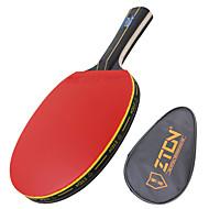 Ping Pang/Stolni tenis reketi Ping Pang Drvo Duga ručka Prištići 1 Reket 1 Torba za stolnotenisku opremuZTON