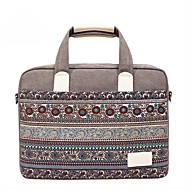 13.3 14.1 15.6 inch Bohemian Style Stitching Computer Bag Handbag Shoulder Bag for Surface/Dell/HP/Samsung/Sony etc