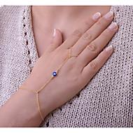 Pentru femei Brățări cu Lanț & Legături Ring Bracelets Bijuterii Bohemia Stil Confecționat Manual Aliaj Circle Shape Auriu Argintiu