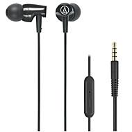 Audio-technica ath-clr100i bk mobilni slušalica za računalnu in-ear plastičnu žicu od 3,5 mm s mikrofonom za uklanjanje buke