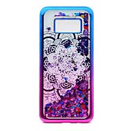 Samsung Galaxy s8 plusz s8 TPU anyag bevonata lézer faragás futóhomok telefon esetében s7 szélén s7