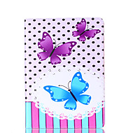 Για καρτέλα γαλαξιών samsung 9.7 a 7.0 e 9.6 κάλυψη περίπτωσης πεταλούδας κάρτα stent pu υλικό επίπεδη κέλυφος προστασίας