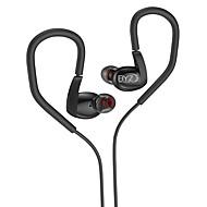 携帯電話の携帯電話のコンピュータスポーツフィットネスの耳の有線金属3.5ミリメートルマイク音量コントロールノイズキャンセルハイファイ