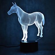 크리스마스 말 거북 터치 감각 3d LED가 밤 빛 7colorful 장식 분위기 램프 참신 조명 크리스마스 빛