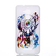 Voor zenfone 3 max ze552kl ze520kl tpu materiaal de nieuwe herten droomcatcher patroon lichtgevende telefoon hoesje