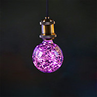 3W E27 Żarówka dekoracyjna LED G95 33 LED zintegrowany 300 lm Różowy Dekoracyjna AC 85-265 V 1 sztuka