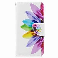 Dla samsung galaxy j7 (2017) j5 portmonetka z kartą podstawową portfel ze stojakiem flip wzór obudowa koperta korpus przypadku kwiat