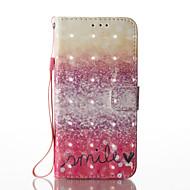 Samsung Galaxy s8 plusz s8 3D hatás vörös sivatagi mintás PU anyagból pénztárca részén telefon esetében s7 él s7 s6 él s6 s5