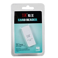 SSK SDカードサポート USB 2.0 カード読み取り装置