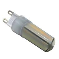 6W G9 LED Bi-Pin lamput T 136 SMD 3014 500-600 lm Lämmin valkoinen Neutraali valkoinen Valkoinen Himmennettävä Koristeltu V 1 kpl