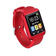 Herr Damers Unisex Sportsklocka Smart klocka Armbandsur Digital LED Fjärrkontroll Silikon Band Berlock Svart Vit Röd