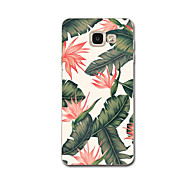 For Ultra Thin Pattern Case Back Cover Case Flower Soft TPU for Samsung A3(2017) A7(2017) A5(2016) A8 A7 A5