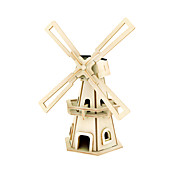 Jigsaw Puzzles DIY KIT 3D Puzzles Building Blocks DIY Toys Windmill Wood Model & Building Toy