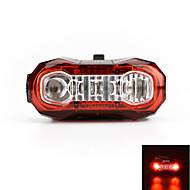 πισω φαναρια LED LED Ποδηλασία Επαναφορτιζόμενο Εξαιρετικά Ελαφρύ Προειδοποίηση USB Lumens USB Κόκκινο Ποδηλασία Για Υπαίθρια Χρήση
