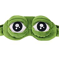 1PC Ice Compress Travel Travel Eye Mask / Sleep Mask Travel Rest Breathability Foldable Portable Static-free Sun Protection Plastic
