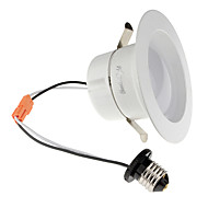 Youoklight 1pcs e26 / e27 10-12w 950lm ac110-130v 24 * 5730 smd chaud blanc / froid blanc led gradable downlight plafonnier