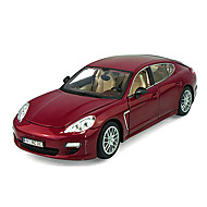 Samochód wyścigowy pociągnij pojazdy z tyłu 1:18 abs plastikowe czerwone