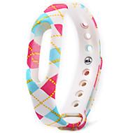 xiaomi miband 1 / 1s에 대 한 다채로운 패턴 tpu 시계 밴드
