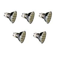 3W E14 GU10 E26/E27 LED-spotlampen MR16 27 SMD 5050 300 lm Warm wit Koel wit Dimbaar Decoratief AC220 V 5 stuks