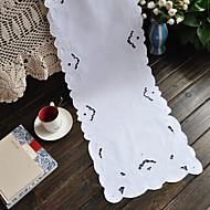 Office/Business Broderad Löpare , 100% Bomull MaterialBröllopsfest dekoration Bröllop Bankett Juldekor favör Tabell Dceoration Bröllop
