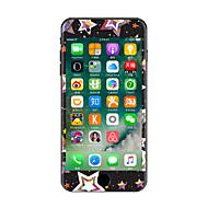 1 stuks Krasbestendig Geometrisch Transparante kunststof Lichaamssticker Glow in the dark Patroon VooriPhone 7 Plus iPhone 7 iPhone 6s