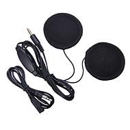 3.5mm jack hjelm hodetelefon motorsykkel hjelm høyttaler hodetelefoner plugger volumkontroll mp3 telefon musikk for hjelm tilbehør heasets
