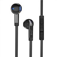 携帯電話のための携帯電話のコンピュータの耳の有線tpe 3.5mmマイクの音量コントロールノイズキャンセルハイファイ
