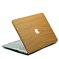 MacBook Custodia per Macbook Simil-legno policarbonato Materiale