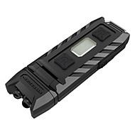Nitecore® THUMB LED손전등 LED 85 루멘 3 모드 LED 리튬 배터리 Himmennettävissä 충전식 앵글헤드 컴팩트 사이즈 캠핑/등산/동굴탐험 일상용 야외 폴리카보네이트