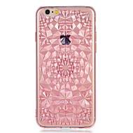Pour apple iphone7 7plus casquette couverture motif couverture arrière motif géométrique doux tpu 6s plus 6 plus 6s 6