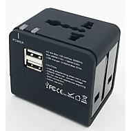 foxcan EGK-148ue többfunkciós utazási aljzatok 3.1a 2 portos USB