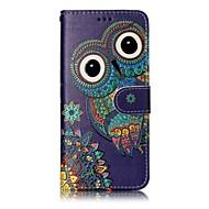 Samsung Galaxy s8 plusz s8 telefon esetében bagoly mintás lakkozás folyamata műbőr anyagból telefon esetében s7 szélén s7 s6 él s6