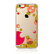 Hoesje voor iphone 7 7 plus tpu soft back cover geometrisch patroon voor iphone 6 plus 6s plus iphone 5 se 5s 5c 4s