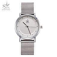 SK Damen Kleideruhr Modeuhr Armband-Uhr Einzigartige kreative Uhr Chinesisch Quartz Wasserdicht Schockresistent Metall Legierung Band