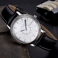 YAZOLE Muškarci Modni sat Ručni satovi s mehanizmom za navijanje Casual sat Kvarc Koža Grupa Cool Neformalno Elegantno Crna Smeđa