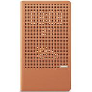 Huawei P8 max burkolata állvánnyal lepattintható auto sleep / wake up teljes test esetében egyszínű kemény PU bőr