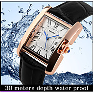 SKMEI Brand Elegant Retro Watches Women Fashion Luxury Quartz Watch Clock Female Casual Leather Women's Wristwatches