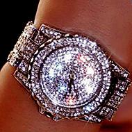 Dames Voor Stel Dress horloge Modieus horloge Polshorloge Armbandhorloge Unieke creatieve horloge Gesimuleerd Diamant Horloge Kwarts