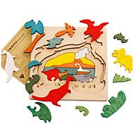 Puzzle Zabawki 3D Cegiełki DIY Zabawki Dinozaur