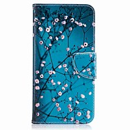 Za huawei p10 plus p10 lite kućište za pokrivanje držač kartice novčanik sa stalakom flip uzorak slučaj punog tijela slučaju cvijet teško