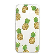 Voor Hoesje cover Patroon Achterkantje hoesje Fruit Zacht TPU voor Samsung A3 (2017) A5 (2017) A5(2016) A3(2016)