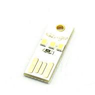 Kreativ LED-tastaturlampe usb-lys med varmt hvitt eller kaldt hvitt mobil strømlampe