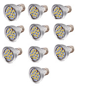 6W LED-spotlampen 15 SMD 5630 700 lm Warm wit AC 85-265 V