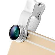 Lentille de téléphone lieqi lq-65x objectif grand angle 0.65x lentille macro aluminium 10x kit de lentilles pour mobile pour smartphones