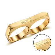 Gucci stainless steel wholesale in Europe and America Metrosexual titanium ring ring punk personality