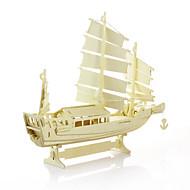 Puzzle Cegiełki DIY Zabawki Statek