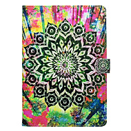 Case for Apple iPad pro 10.5 9.7''Cover Card Holder with Stand Pattern Full Body Case Mandala Hard PU Leather iPad (2017) 2 3 4 Air 2 Air mini 1 2 3 4