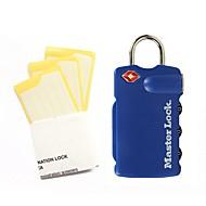 Masterlock 4685dblr passord ulåst 3 siffer passord dail lock og passord lås bagasjen lås tsa lås