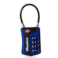 Masterlock 697d salasana avautuu 4 numeroa salasanaa lukituslukko salasanan lukko matkalaukun lukko tsa lukitus