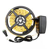 36W Flexible LED-Leuchtstreifen 3400-3500 lm DC12 V 5 m 300 Leds Warmweiß Weiß